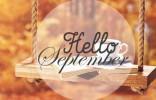 Мероприятия сентября