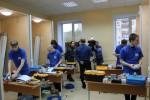 Открытие нового учебно-тренировочного полигона по компетенции «Электромонтаж»