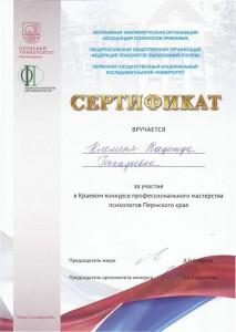 Профессиональный конкурс для психологов